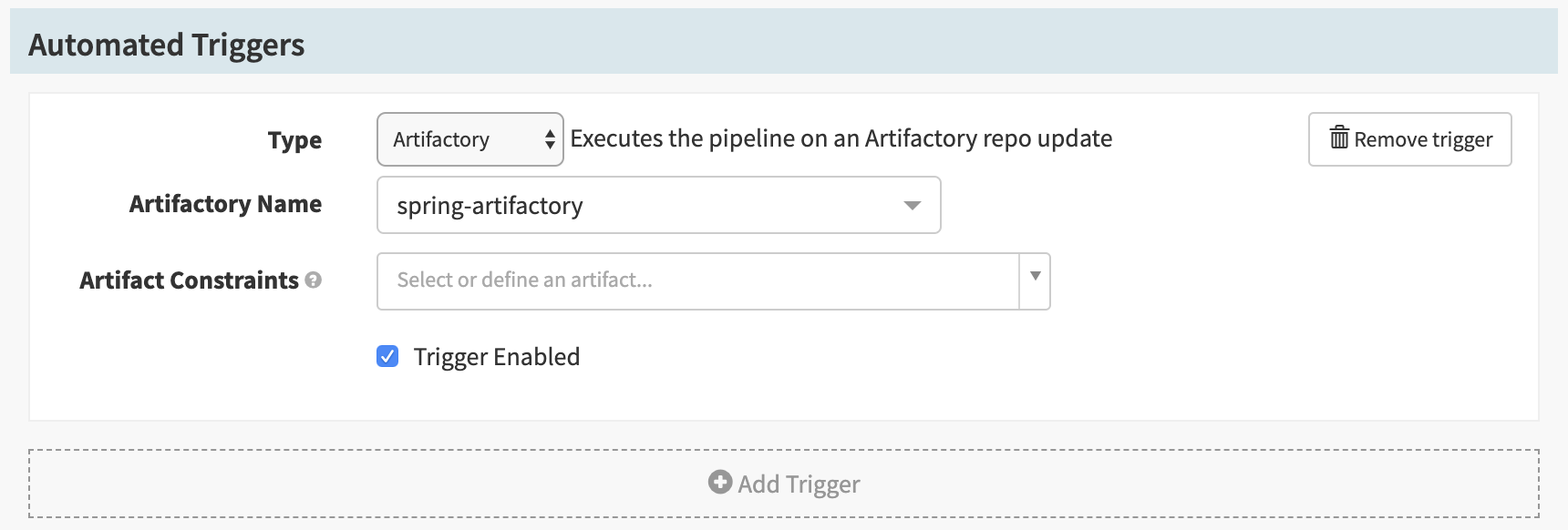 Deploy Artifacts from Artifactory to CF - Spinnaker
